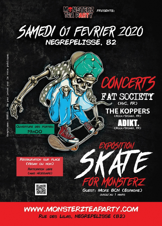 Soirée Skate For Monsterz